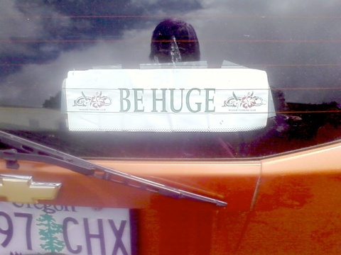 be huge