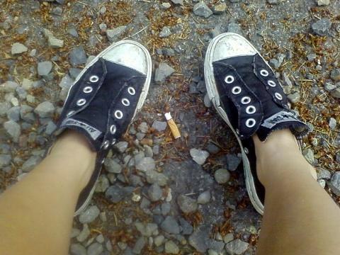 hiking converse