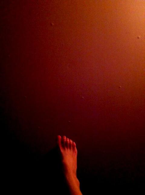 the stars beneath her feet