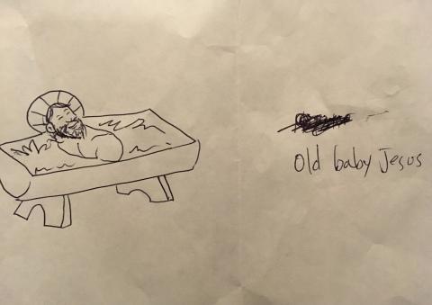 old baby jesus